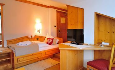 Hotel BRUNNERHOF_jednolůžkový pokoj single