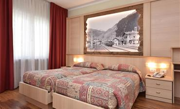 Hotel Bellaria _dvoulůžkový pokoj