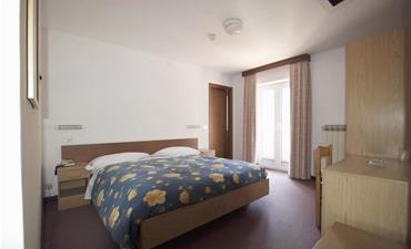 Hotel SCIATORI_dvoulůžkový pokoj