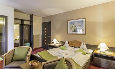 Hotel STOCKER_jednolůžkový pokoj Löwenzahn