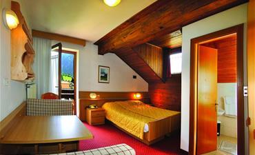 Hotel LA MONTANARA_jednolůžkový pokoj single