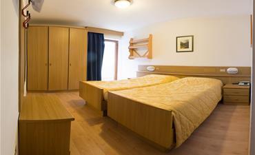 Hotel LA MONTANARA_dvoulůžkový pokoj